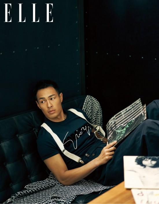 楊祐寧《ELLE》六月刊時尚大片 膠片時光對話自我