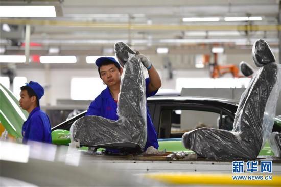 (经济)(7)中国新能源汽车产销稳步增长