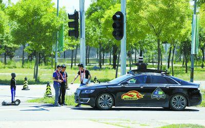 測試場助自動駕駛汽車拿牌照