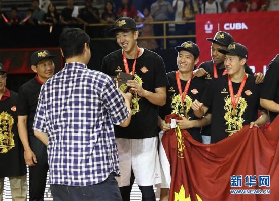 CUBA:北京大学夺得冠军