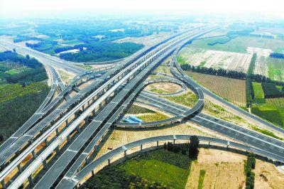 大兴机场高速、大兴机场北线高速中段本月底建成通车