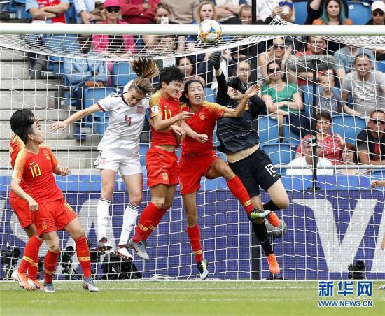 (女足世界杯)(9)足球――B组:中国队战平西班牙队