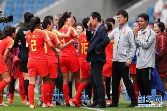 (女足世界杯)(5)足球――B组:中国队战平西班牙队