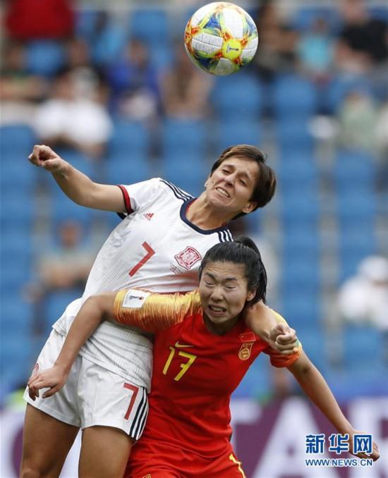 (女足世界杯)(10)足球――B组:中国队战平西班牙队