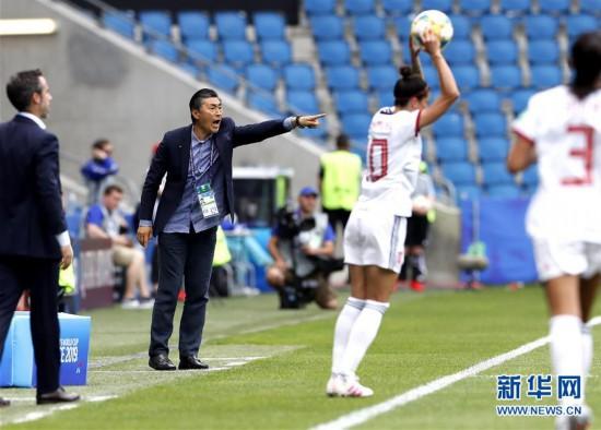 (女足世界杯)(8)足球――B组:中国队战平西班牙队