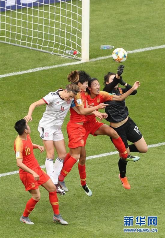 (女足世界杯)(7)足球――B组:中国队战平西班牙队