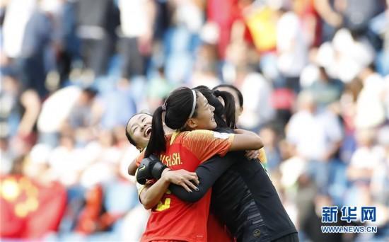 (女足世界杯)(11)足球――B组:中国队战平西班牙队