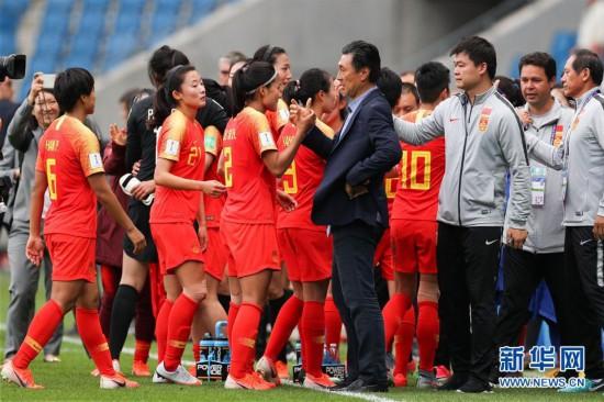 (女足世界杯)(2)足球――B组:中国队战平西班牙队
