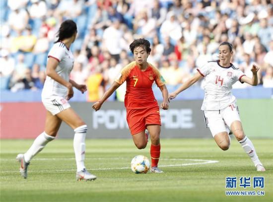 (女足世界杯)(12)足球――B组:中国队战平西班牙队