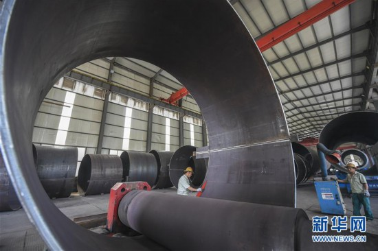 (经济)(2)河北景县:传统铁塔产业转型助力风力发电