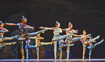 辽宁芭蕾舞团:足尖上跳出中国节拍