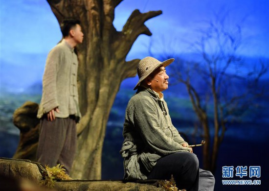(文化)(1)话剧《柳青》将开启全国巡演