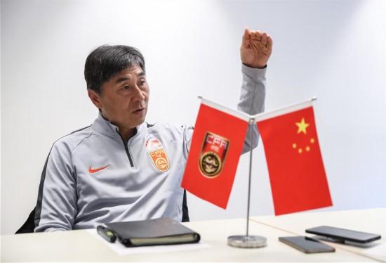 (体育・图文互动)(1)只要打出自身的东西,中国队能走得更远――专访主帅贾秀全(配本社同题文字稿)