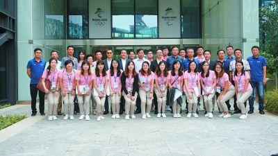 20位香港大学生来到冬奥组委开启实习计划