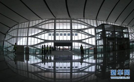 (社会)(4)北京大兴国际机场航站楼工程进入竣工倒计时