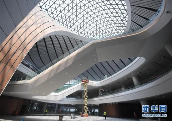 (社会)(3)北京大兴国际机场航站楼工程进入竣工倒计时