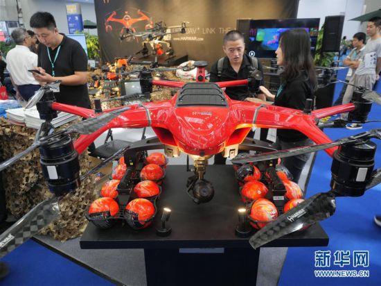 2019世界无人机大会暨第四届深圳国际无人机展览会在深圳开幕
