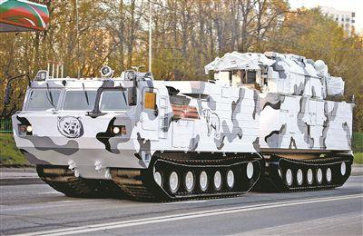 """俄寒区武器装备开启""""极地模式"""""""