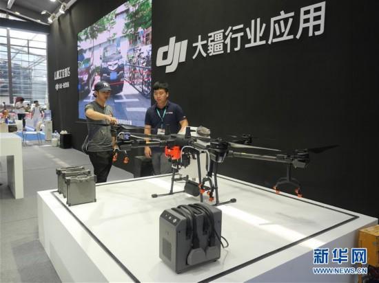 (社会)(2)2019世界无人机大会在深圳举行