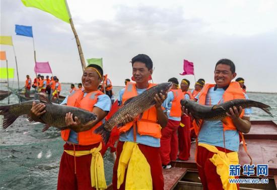 (经济)(4)中国最大内陆淡水湖迎来开湖季