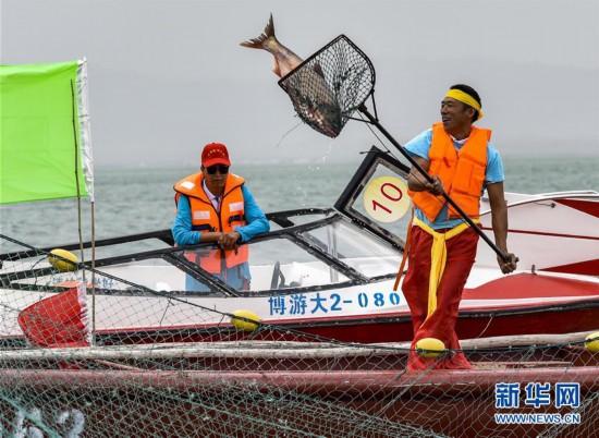 (经济)(2)中国最大内陆淡水湖迎来开湖季