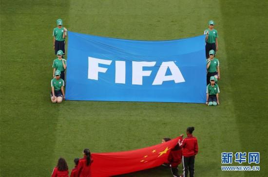 (體育·圖文互動)(2)展示形象 傳遞友誼——中國青少年閃耀女足世界杯賽場