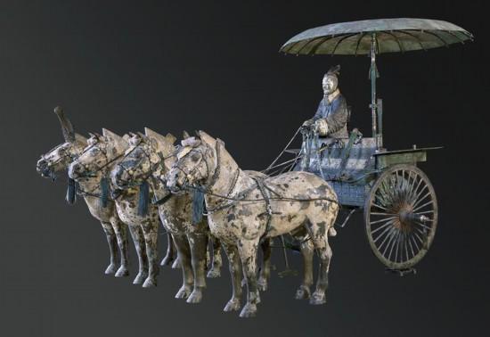 """铜车马:震古烁今的""""青铜之冠"""""""