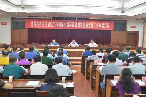 博白县委党的建设工作领导小组会议召开