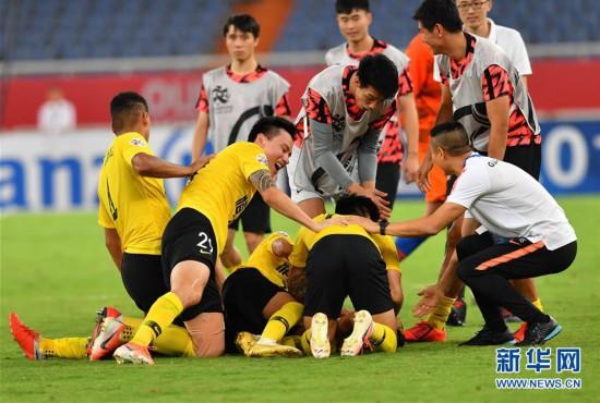 亞冠:廣州恆大晉級八強