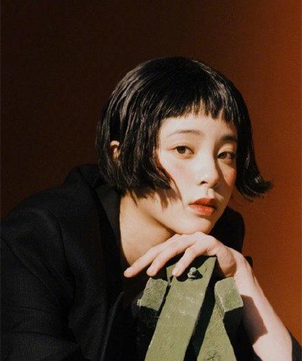 留过狗啃刘海的女星 欧阳娜娜活泼可爱尽显时尚图片