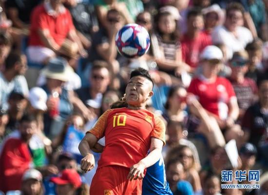 (女足世界杯)(52)足球――16强赛:中国队对阵意大利队