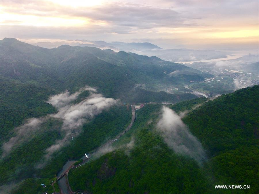 CHINA-FUZHOU-MOUNTAIN SCENERY (CN)
