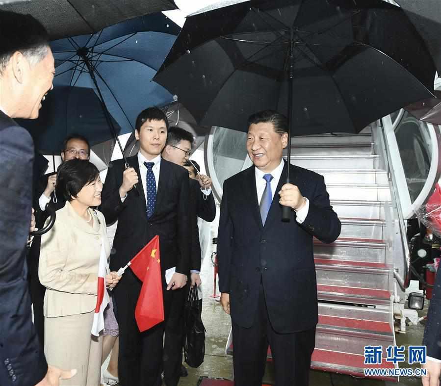 (时政)习近平抵达日本大阪出席二十国集团领导人第十四次峰会