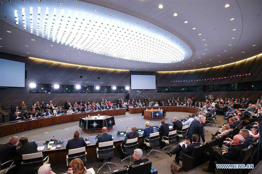 NATO defense ministers meeting held in Brussels