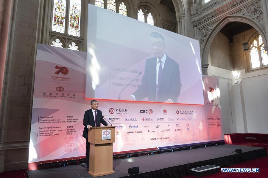 China-Britain cooperation faces promising prospects: ambassador