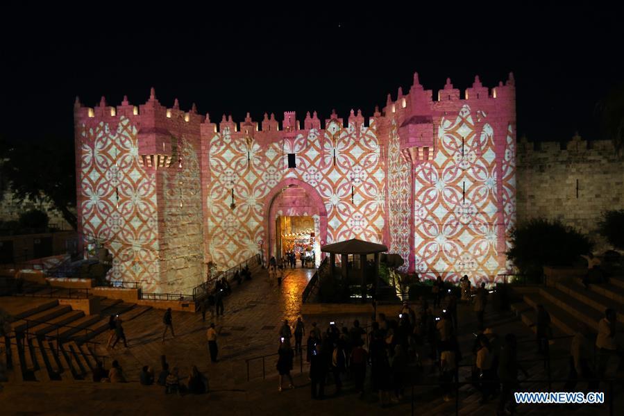 In pics: Jerusalem Light Festival