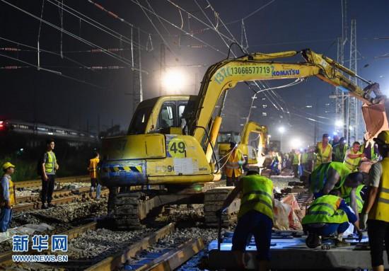 廣深鐵路石龍站擴能改造 增加中歐班列運力