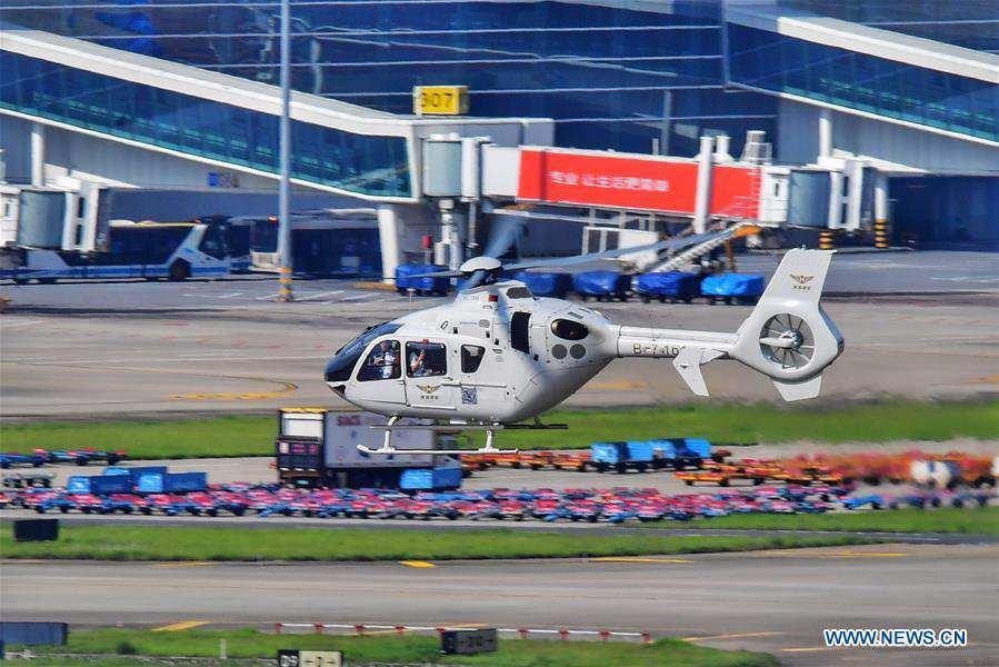 CHINA-SHENZHEN-HONG KONG-HELICOPTER-FLIGHT(CN)