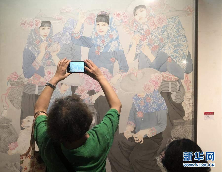 (文化)(1)天津市美术作品展览开幕