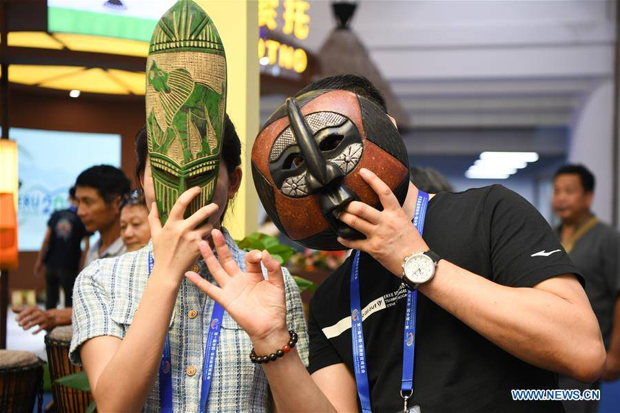 People visit China-Africa Economic and Trade Expo in Changsha