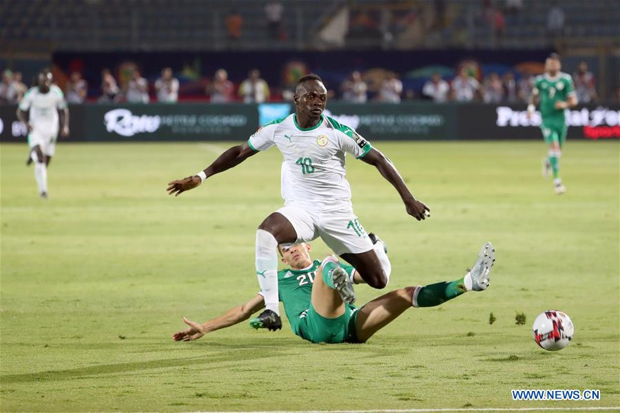 Algeria beats Senegal 1-0 at 2019 African Cup of Nations Group C match