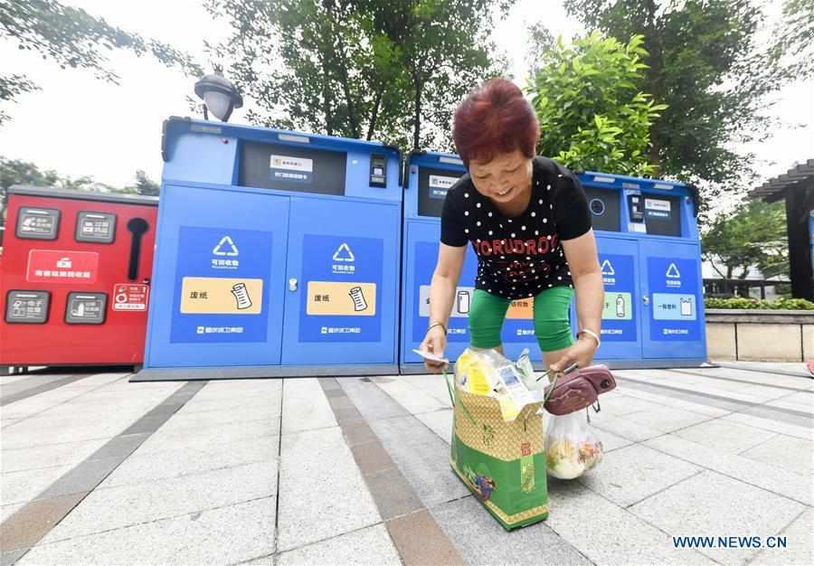 CHINA-CHONGQING-GARBAGE SORTING (CN)
