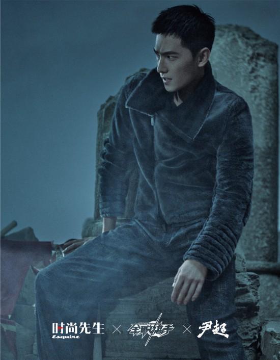 杨洋最新封面大片释出 彰显野性力量