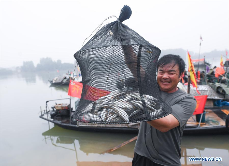 Dongziguan Village attracts tourists to experience joy of fishermen's harvest
