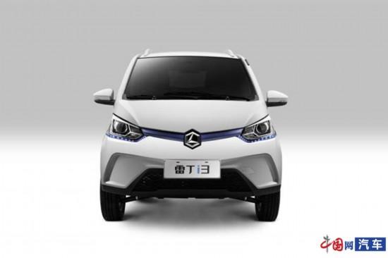 雷丁i3官图曝光 新车定位于小型两厢纯电车型
