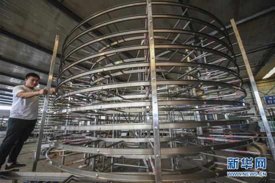 (經濟)(1)河北安平:高端食品機械制造受歡迎