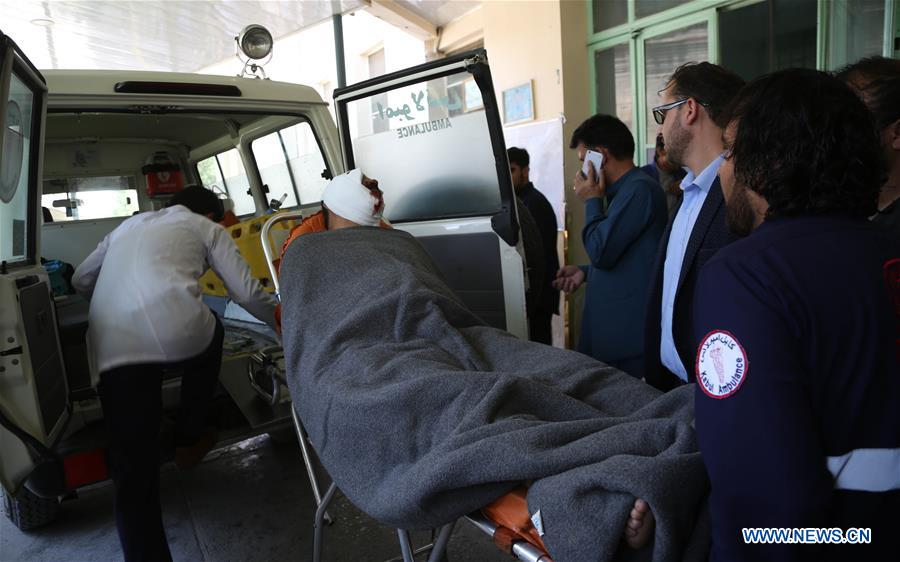 34 killed, 68 injured as blast rocks Kabul, Taliban claims responsibility