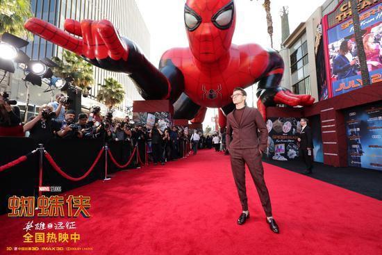 《蜘蛛侠:英雄远征》国内票房飙升 北美