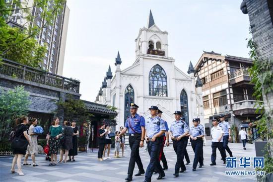 (法治)(1)中意在重庆开展联合警务巡逻