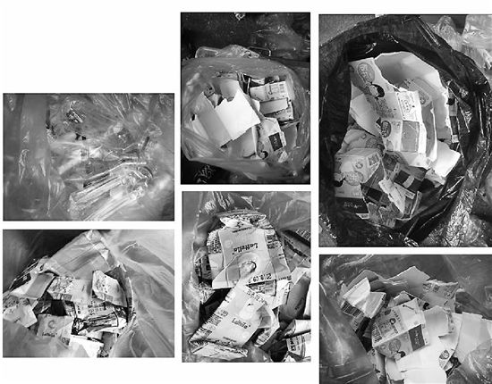 牛奶盒洗干净晾干再处理 两年回收了17吨可再生垃圾